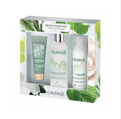 Caudalie Beauty Elixir Set欧缇丽皇后水 100ml+面膜+洁面摩丝