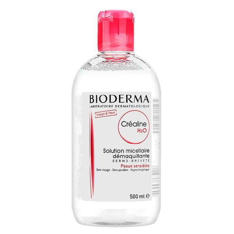 法国贝德玛Bioderma卸妆水500ml粉水 法国版