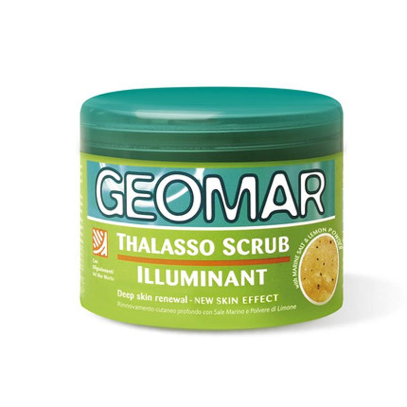 【国内现货】意大利 Geomar 吉儿玛 亮泽身体磨砂海盐(柠檬香味)300g/瓶