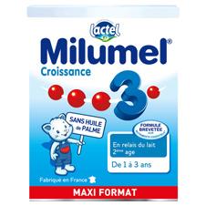 法国牛栏Milumel 成长型3段-900G 6罐