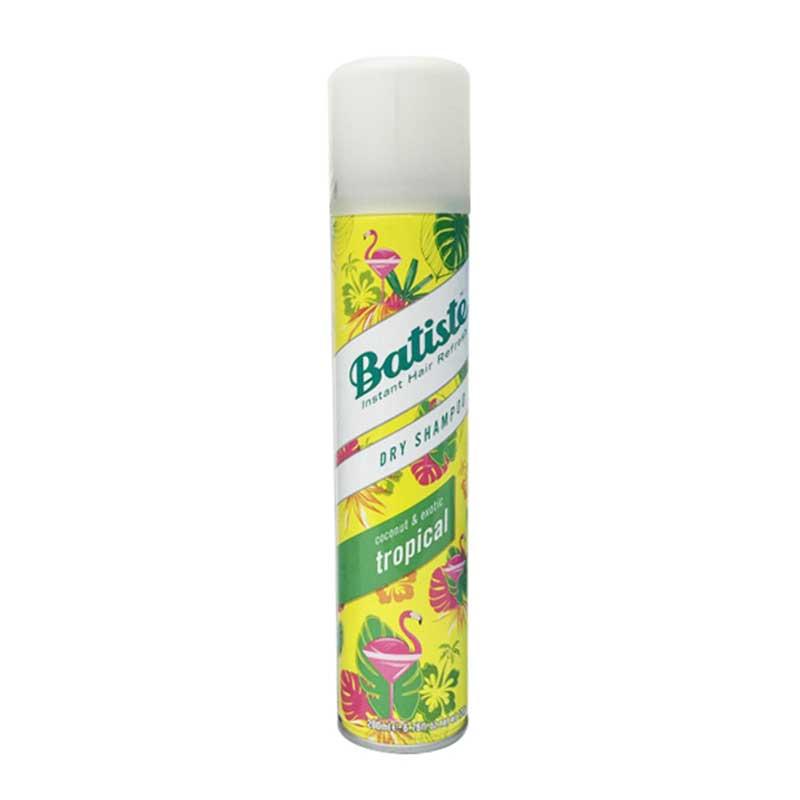 英国batiste碧缇丝头发干洗干发喷雾 孕妇免洗洗发200ml(tropical 热带水果)