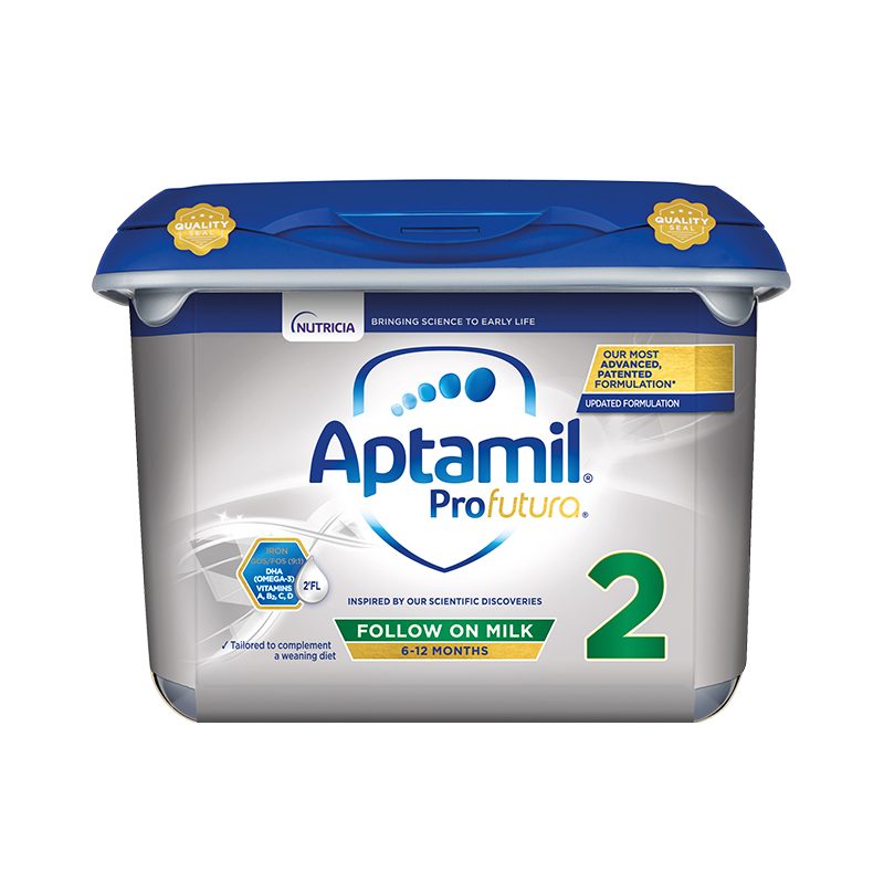 【欧洲直邮包邮包税】Aptamil英国爱他美白金版婴幼儿奶粉2段 800gx6罐
