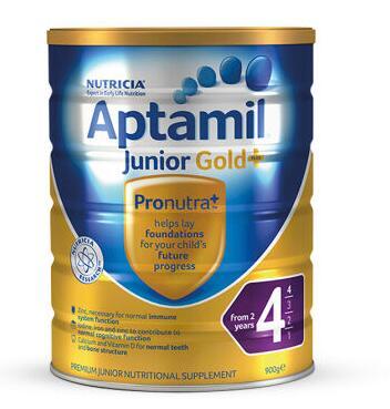 【6罐装】澳洲直邮包税  爱他美Aptamil 婴幼儿奶粉4段(2岁以上)900g ×6罐