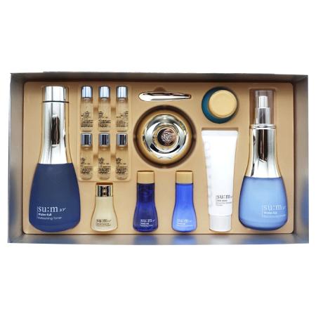 【香港直邮】韩国Sum37°苏秘37° 呼吸水漾沁润系列礼盒 惊喜水分安瓶套装