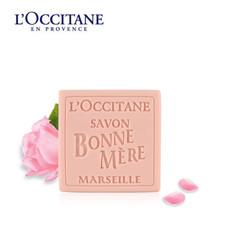 法国L'occitane 欧舒丹玫瑰妈妈香皂100g