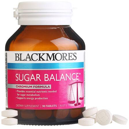 【2件装】 澳佳宝 Blackmores 血糖平衡片 调节血糖降低胆固醇 90粒