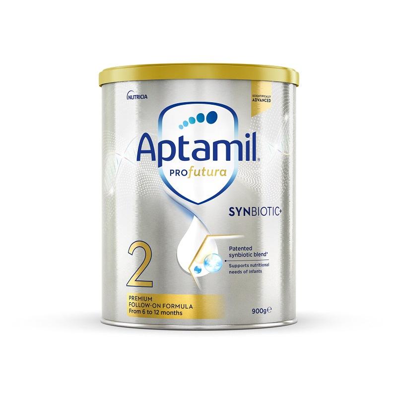 【3罐装】澳洲药房直邮爱他美Aptamil 白金版婴幼儿奶粉2段(6-12个月)900g×3