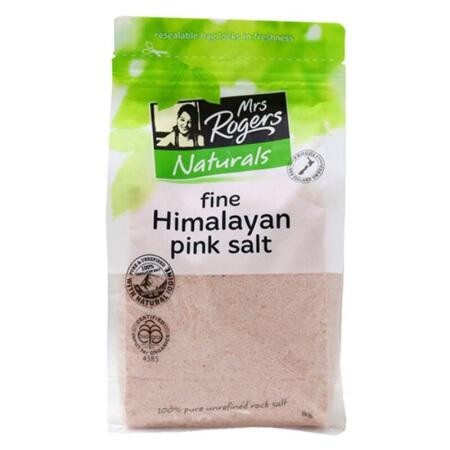 【国内现货】新西兰 Mrs Rogers喜马拉雅天然粉盐细盐 1kg /袋