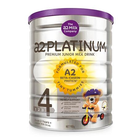 【3罐装】澳洲直邮包邮包税 a2 Platinum 白金版婴幼儿奶粉4段900g (3-6岁)