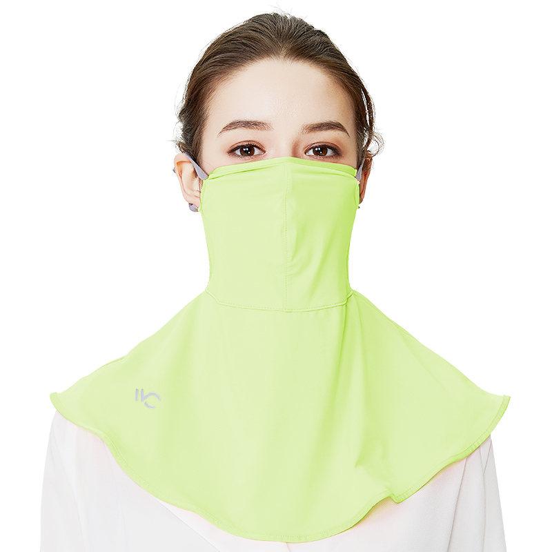 【国内现货】韩国VVC 夏季防紫外线防尘冰丝透气遮阳护颈面罩