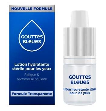 【国内现货】法国INNOXA 2020新版爱诺莎蓝色人鱼眼泪眼药水10ml 纯植物提取