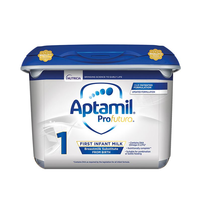 【欧洲直邮包邮包税】Aptamil英国爱他美白金版婴幼儿奶粉1段 800gx6罐