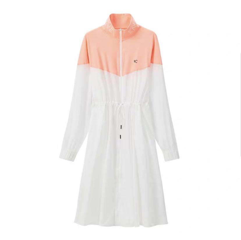 【国内现货】韩国VVC 经典款时尚拼接长款女士防晒衣 多色可选