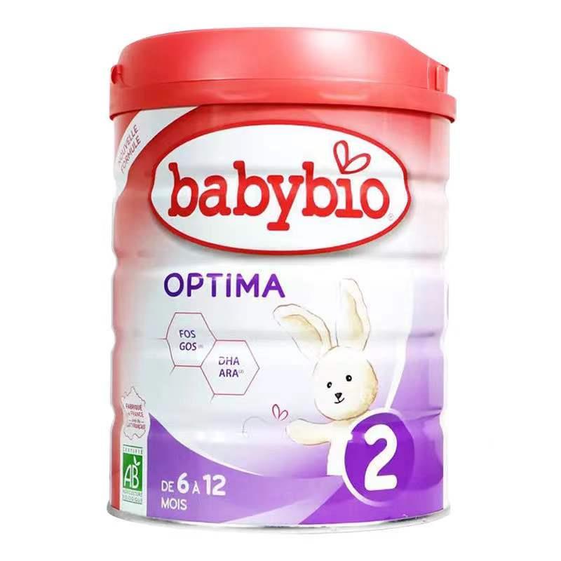 伴宝乐BABYBIO OPTIMA 近母乳型2段900克6罐装(支持现采)
