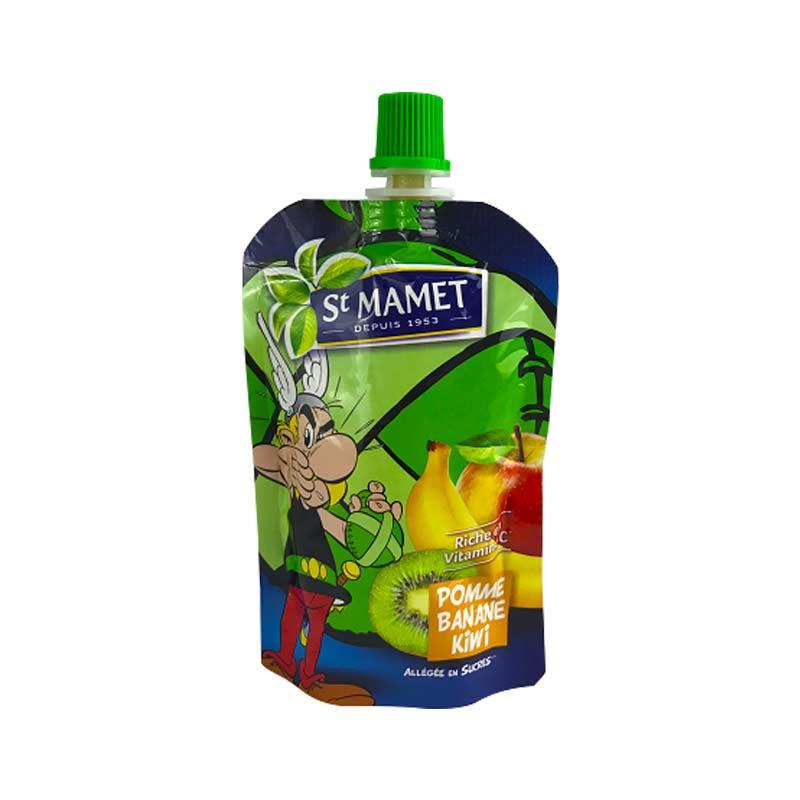 【国内现货】St mamet 圣宝尼猕猴桃香蕉苹果果泥POMME BANANE KIWI 90g