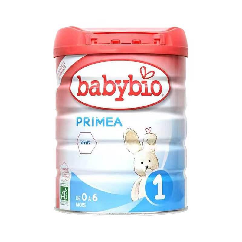 法国直邮 伴宝乐BABYBIO PRIMEA 标准型 1段 900克 6罐装  保质期到:2019年2月以后