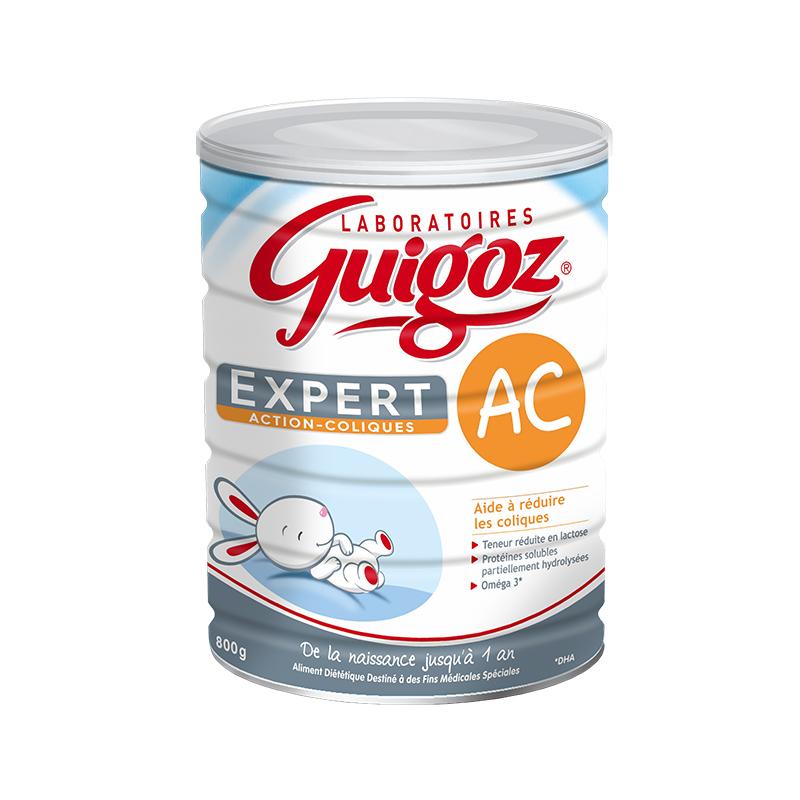 【6罐装】法国直邮Guigoz 古戈氏奶粉防腹痛 800G