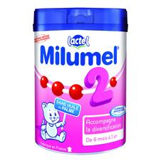法国牛栏Milumel标准型2段6罐装 适合6-12个月宝宝