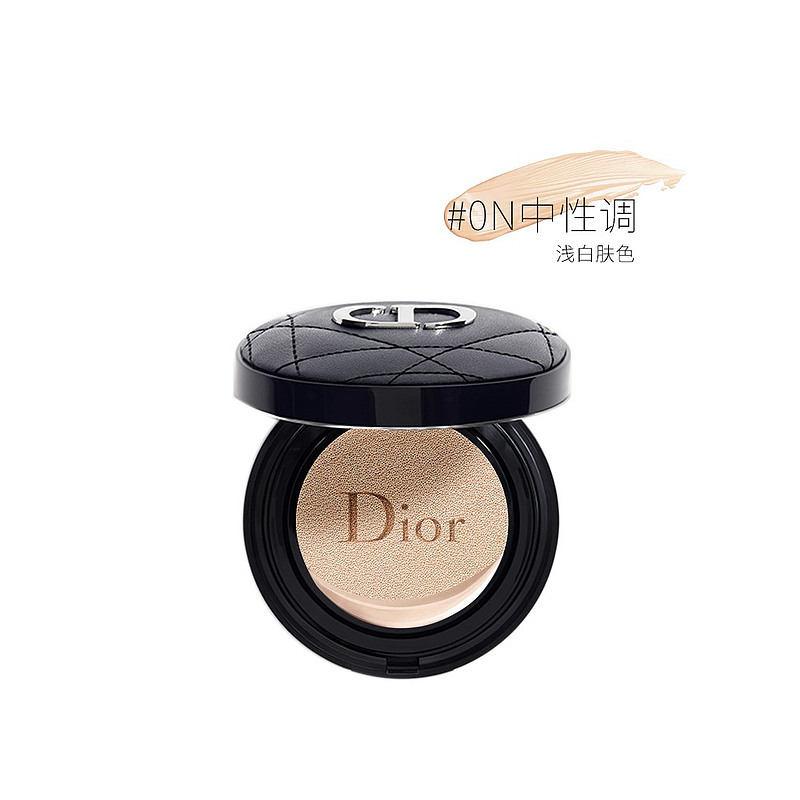 【香港直邮】法国迪奥Dior 新款凝脂恒久锁妆气垫BB14g 小羊皮革面 #0N SPF35