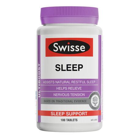 【2件装】澳洲药房直供   Swisse 睡眠片100粒/1瓶