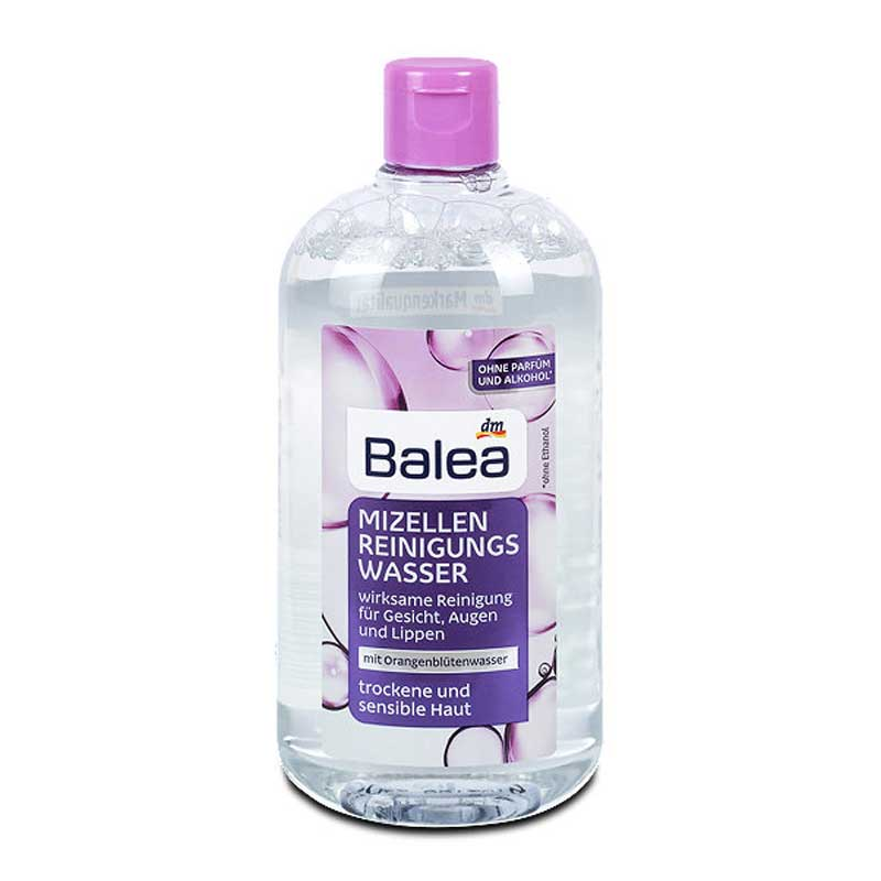 【国内现货】德国Balea芭乐雅卸妆水 眼唇可用400ml   下单请备注所需颜色