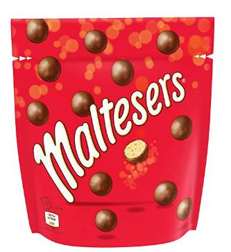 麦提莎麦丽素Maltesers夹心牛奶巧克力192g