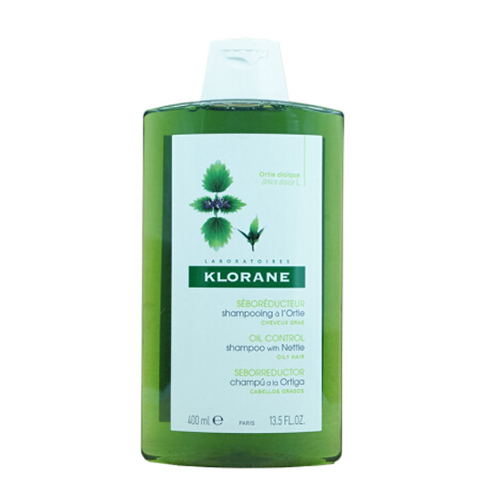 【国内现货】康如(Klorane)寇罗兰荨麻清爽控油洗发水400ml