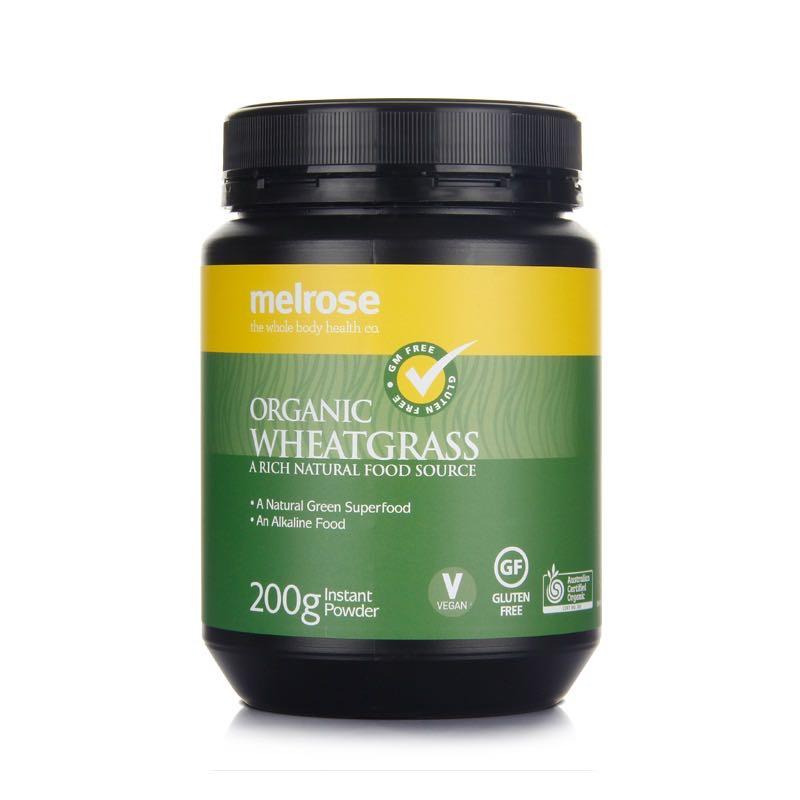 【新品上新】Melrose麦萝氏 澳洲有机小麦草粉 绿瘦子小麦草 200g
