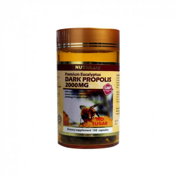 澳洲富莱NUTRILand 野生黑蜂胶2000mg (无糖) 100粒