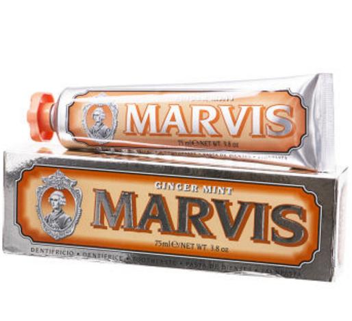 Marvis 玛尔斯 橙色生姜牙膏 75ml