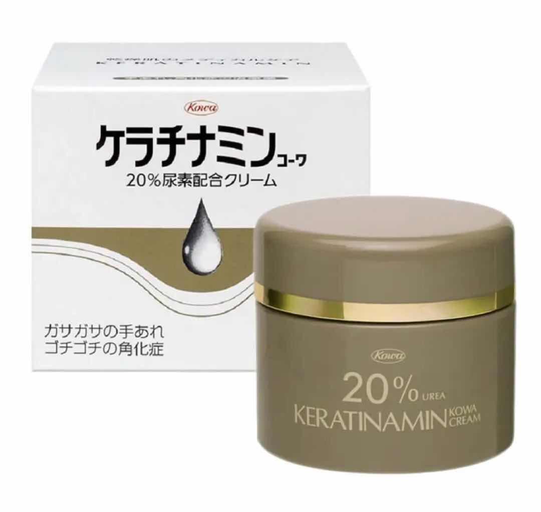 日本兴和kowa 秋冬干燥肌肤尿素保湿滋润护手霜 150g