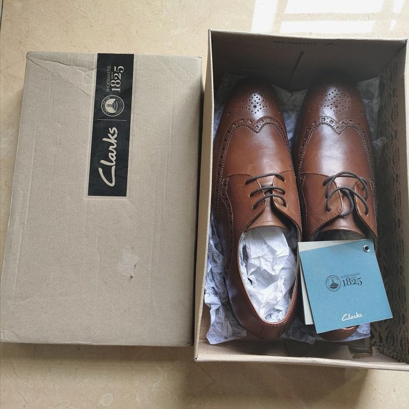 Clarks Amieson Limit男士布洛克系带鞋 UK9G/US10M  欧码43M