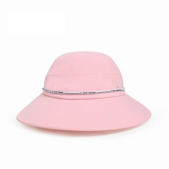 【国内现货】韩国VVC 儿童款夏季防晒遮阳大圆帽可调节--防风绳设计 多色可选