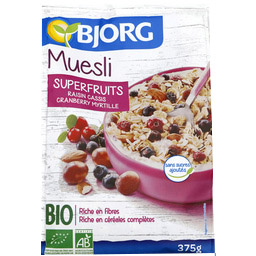 【超市拼单】BJORG无糖燕麦片BIO葡萄干黑醋栗蓝莓蔓越莓