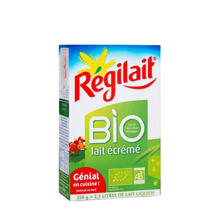 【法国直邮包邮包税】Regilait REGILAIT瑞记有机脱脂奶粉250g 10盒装