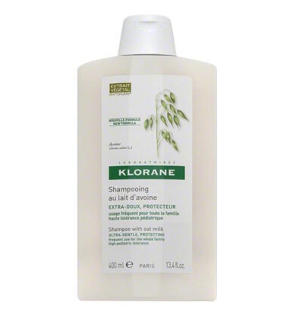 【保税发货】klorane蔻萝兰燕麦牛奶洗发水400ML