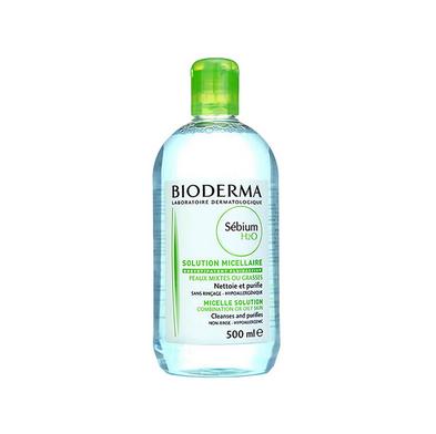 【保税发货】贝德玛 sebium 净妍洁肤卸妆水 混合偏油性肌肤(蓝水) 500ml