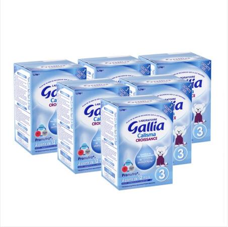 【法国直邮包邮包税】法国佳丽雅 gallia 3段标准型-1200克 6罐装