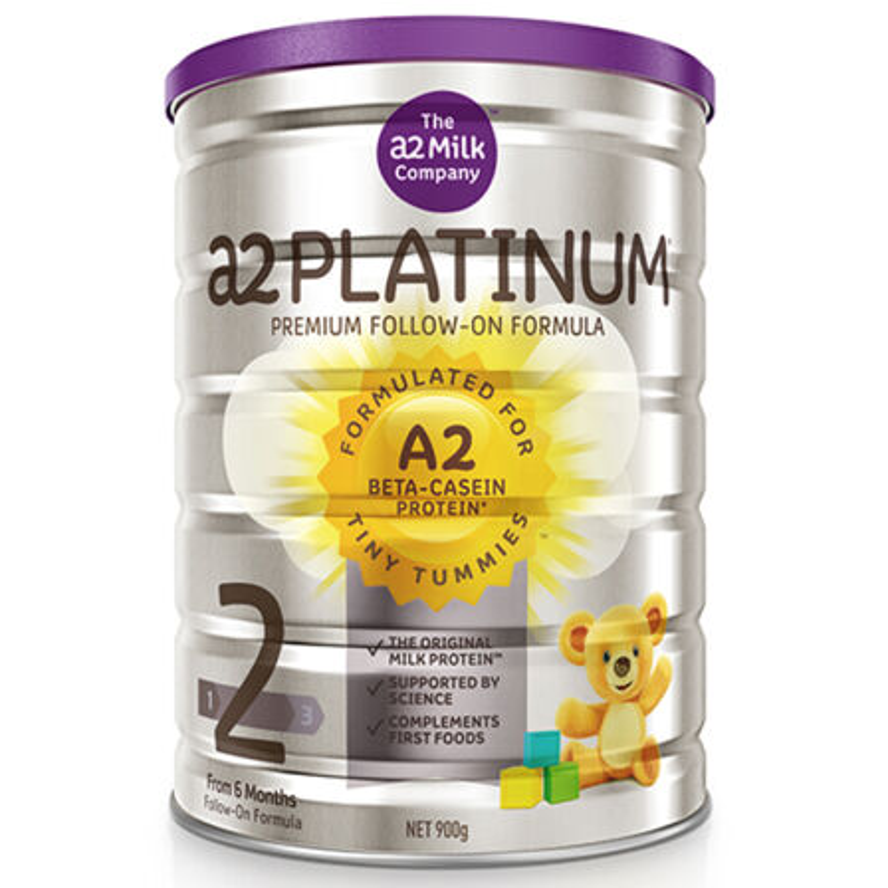 【3罐装】澳洲药房直邮包邮包税 a2 Platinum 白金版婴幼儿奶粉2段900g(6-12月)