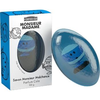 【国内现货】savon monsieur madame 小公主小王子儿童皂系列,下单请备注颜色和香型,图示为蓝色可乐味