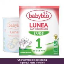 伴宝乐BABYBIO LUNEA 防吐型1段900克6罐装