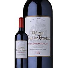【6瓶装】2013年Château de Pressac比萨酒庄 宝石城堡 正牌 干红 750ml